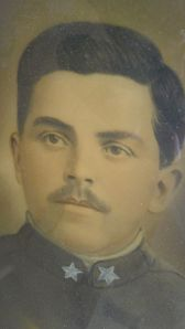 Anselmo Mazzer, alpino, WWI